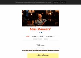 missmanners.com