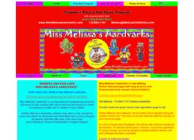 missmelissasaardvarks.com