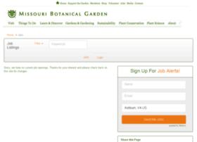 missouribotanicalgarden.applicantpro.com
