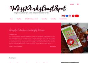 misspinkscraftspot.blogspot.de