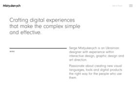 mistyukevych.com
