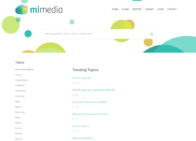 misupport.mimedia.com