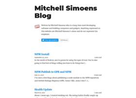 mitchellsimoens.com