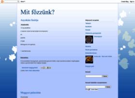 mitfozzunk.blogspot.com