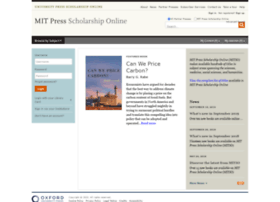 mitpress.universitypressscholarship.com