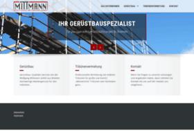 mittmann-geruestbau.de