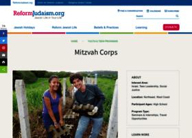 mitzvahcorps.org