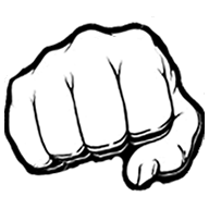 Как сделать кулак в вк