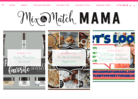 mixandmatchmama.blogspot.ca