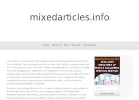 mixedarticles.info