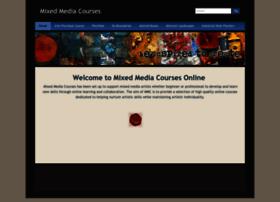 mixedmediacourses.com