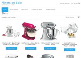 mixersonsale.com