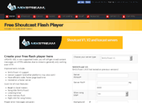 mixstreamflashplayer.net