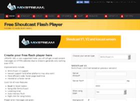mixstreamflashplayer.net