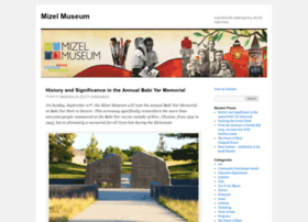 mizelmuseum.wordpress.com