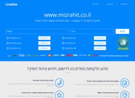 mizrahit.co.il