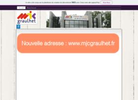 mjcgraulhet.asso.fr