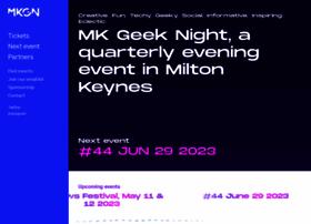 mkgeeknight.co.uk