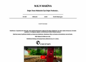 mknmakina.com