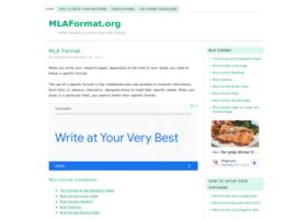 mlaformat.org