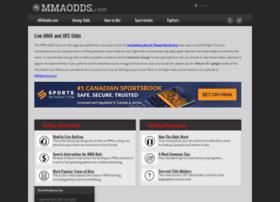 mmaodds.com