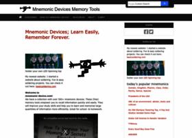 mnemonic-device.com