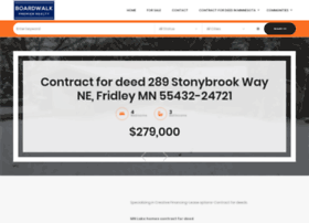 mnlakehomescontractfordeed.com