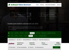 mobieletelefoonabonnementenvergelijken.nl