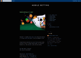 mobile-betting.blogspot.com