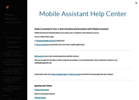 mobile-store-assistant-help.emagicone.com