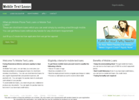 mobile-text-loans.co.uk