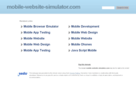 mobile-website-simulator.com