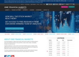 Onefinancialmarkets