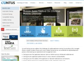 mobileappstesting.contus.com