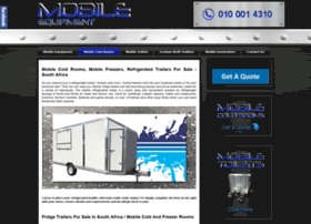 mobilecoldrooms.co.za