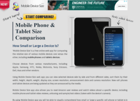mobiledevicesize.com