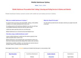 mobilehairdressersydney.com.au