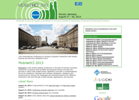 mobilehci2013.org