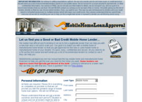 mobilehomeloanapproval.com