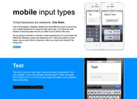 mobileinputtypes.com