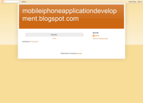 mobileiphoneapplicationdevelopment.blogspot.in