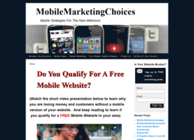 mobilemarketingchoices.com