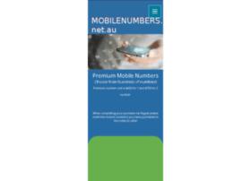 mobilenumbers.net.au