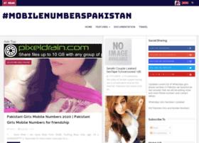 mobilenumberspakistan.blogspot.com