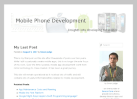 mobilephonedevelopment.com