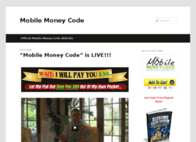 mobilesmoneycode.com