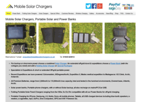 mobilesolarchargers.co.uk