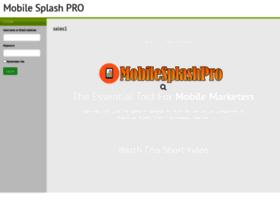 mobilesplashpro.com