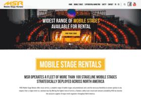 mobilestagerentals.com