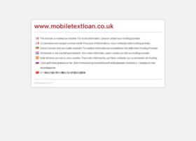 mobiletextloan.co.uk